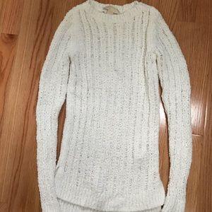 Michael Kors White Chenille Sweater